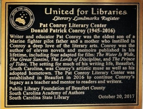 Pat Conroy Literary Center  Designated a Literary Landmark by American Library Association