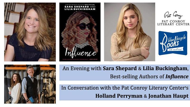 evening with Sara Shepard and Lilia Buckingham