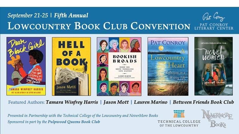 5th annual lowcountry book club convention
