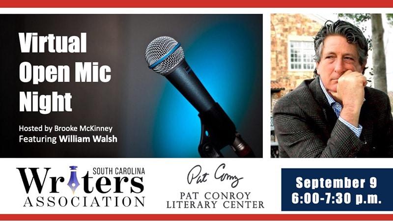open mic night william walsh