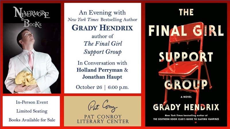 evening with grady hendrix