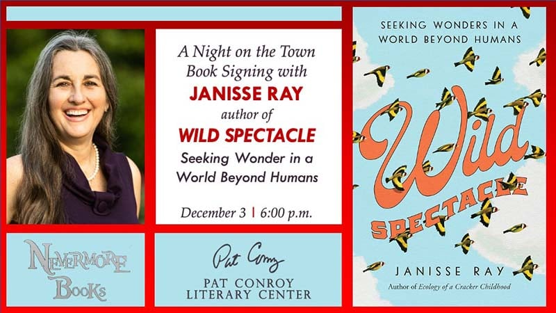 book signing with Janisse Ray
