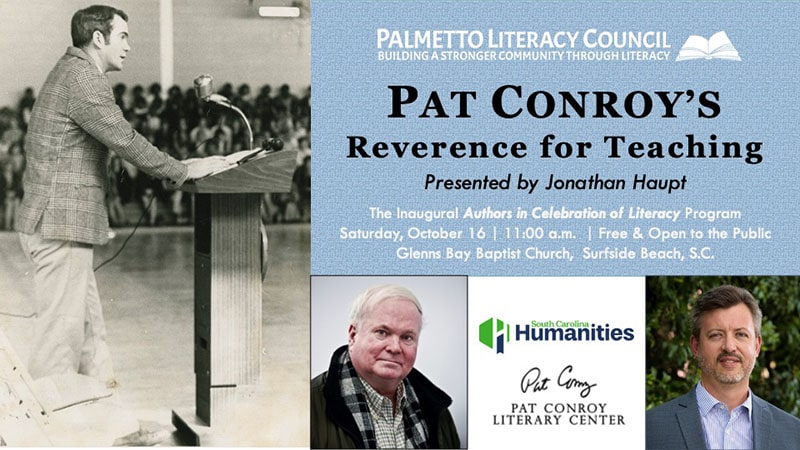 Pat Conroy's Reverence for Teaching